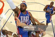 2008年NBA全明星赛高清录像回放 詹姆斯27分夺MVP-一拳录像网