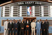 2006年NBA选秀大会顺位排名名单 2006年NBA选秀大会状元-一拳录像网