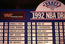 1992年NBA选秀大会顺位排名名单 1992年NBA选秀大会状元-一拳录像网