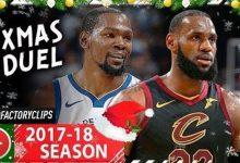 2017年NBA圣诞大战 骑士vs勇士全场高清录像回放-一拳录像网