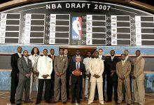 2007年NBA选秀大会顺位排名名单 2007年NBA选秀大会状元-一拳录像网