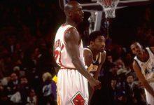 1998年NBA全明星赛高清录像回放 乔丹23分夺MVP-一拳录像网