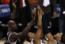 NBA经典比赛:皮尔斯抢七血帽洛瑞绝杀球险胜猛龙 全场录像回放-一拳录像网