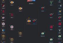 2020年NBA季后赛对阵图表、比分-一拳录像网