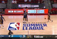 2021.8.18NBA夏季联赛 爵士vs76人 全场录像回放-一拳录像网