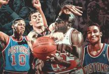 乔丹经典比赛:1988年乔丹59分罚球绝杀活塞 全场录像回放-一拳录像网